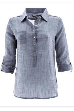 Aventura Clothing Organic Woven-Cotton Top - Alternate List Image