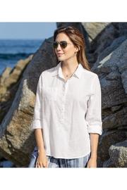 Aventura Clothing Organic Woven-Cotton Top - Product Mini Image