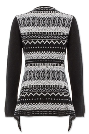 Aventura Clothing Patterned Wool Cardi - Front full body