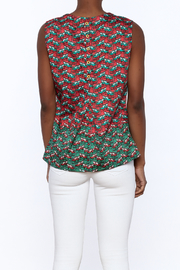 Aventures de Toile Fun Sleeveless Blouse - Back cropped