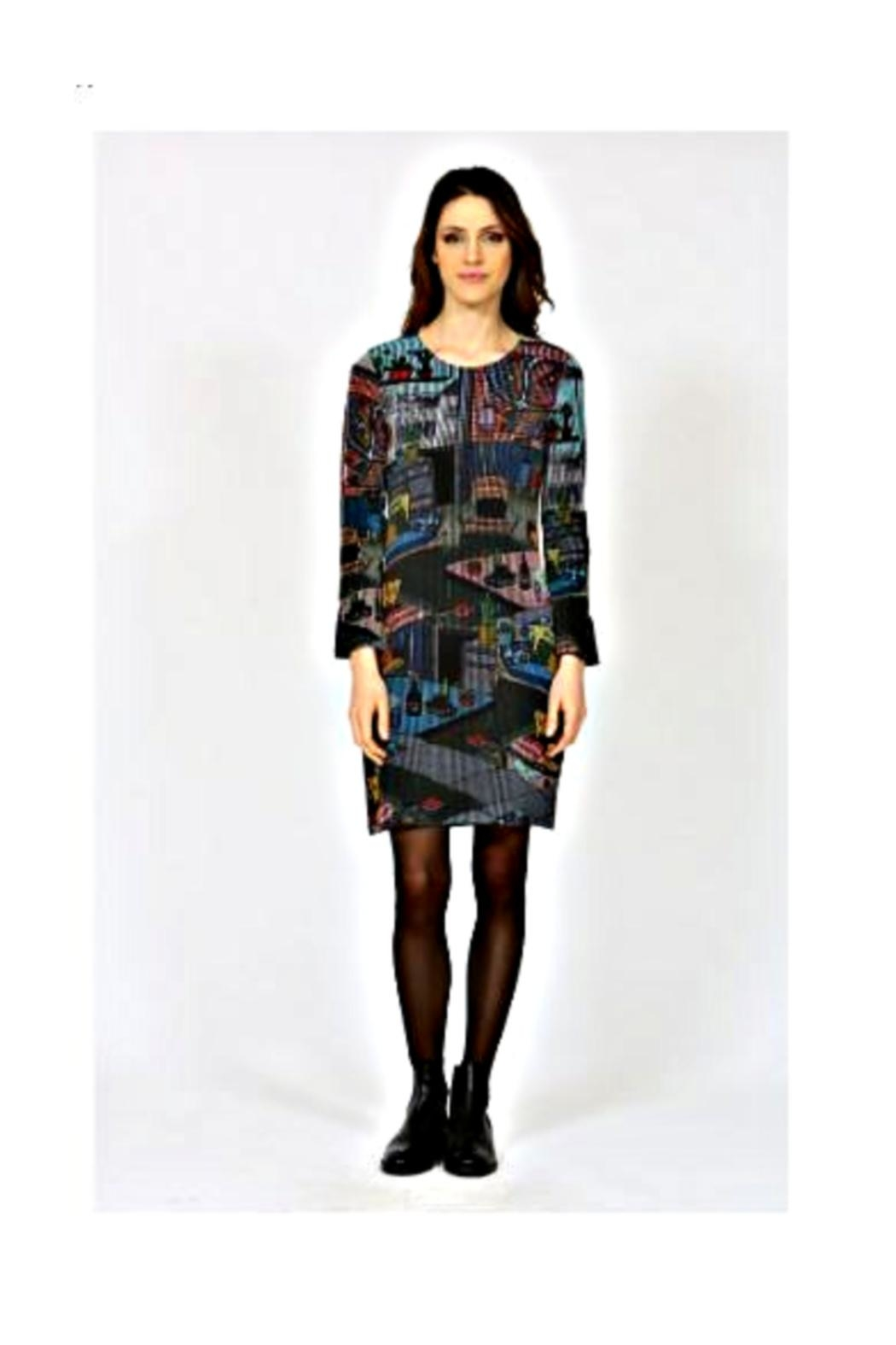 Aventures Des Toiles Apartment Knit Dress - Side Cropped Image