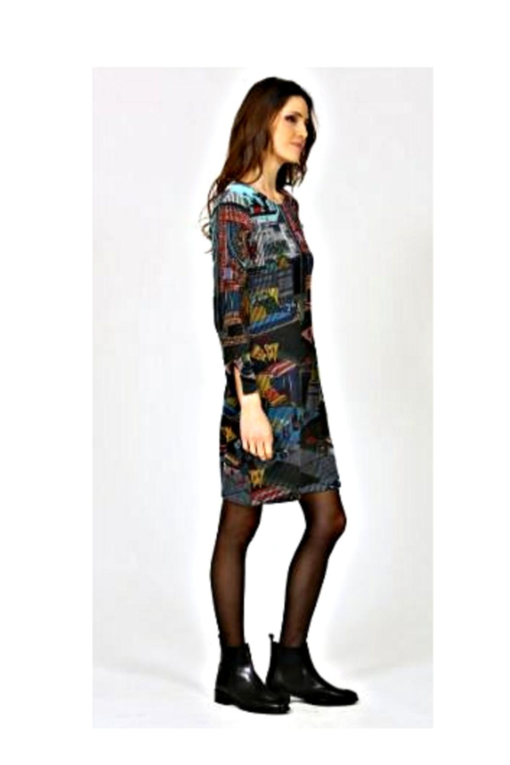 Aventures Des Toiles Apartment Knit Dress - Front Full Image