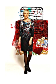 Aventures Des Toiles Carol Bressan Dress - Product Mini Image