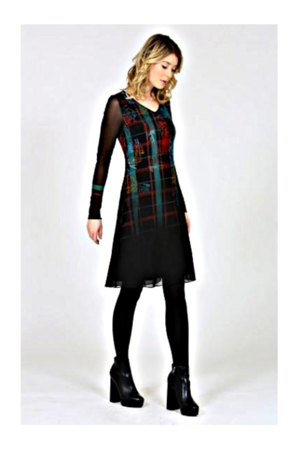 Aventures Des Toiles Philippe Barnier Dress - Side Cropped Image