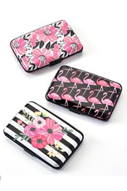 Gift Craft AVENUE 9 TROPICAL VIBE, RFID POWER BANK WALLET, 24 PIECES W/DISPLAYE - Product Mini Image