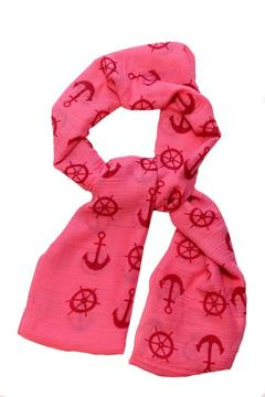 Shoptiques Product: Nautical Pink Scarf