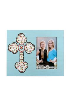 Shoptiques Product: Cross Picture Frame