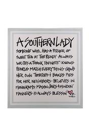 Avenue 550 Southern Lady Wall Decor - Product Mini Image
