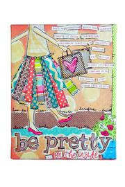 Avenue 550 Be Pretty Wall Decor - Front cropped