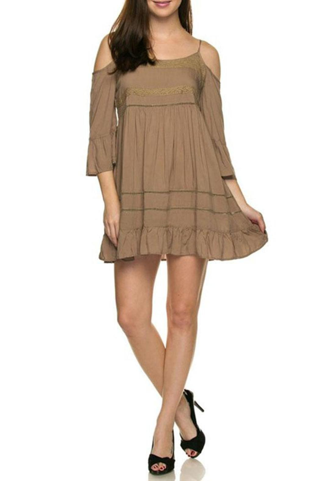 Ces Femme Cold-Shoulder Babydoll Dress from Vermont by ...