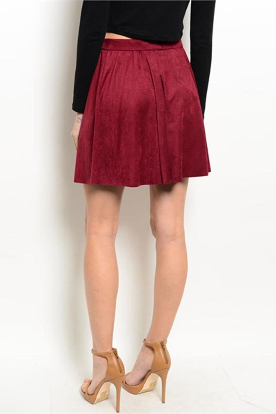 avenue a suede a line skirt from vermont shoptiques
