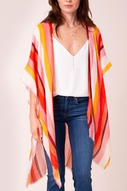 avenue zoe  Striped Kimono - Product Mini Image