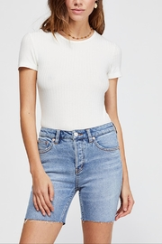 Free People Avery Bermuda Short - Front full body