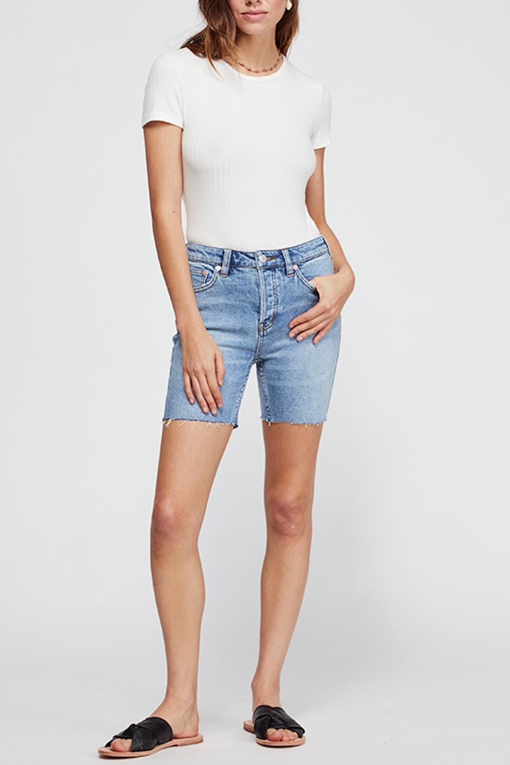 Free People Avery Bermuda Short - Front Cropped Image