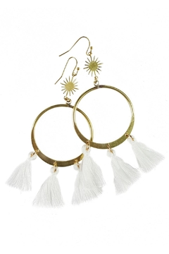 Fabulina Designs Avery Earrings - Product List Image