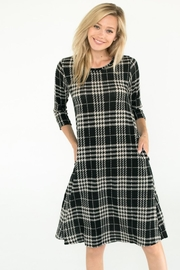 Chris & Carol Avery Plaid Dress - Product Mini Image