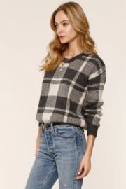 Heartloom AVERY PLAID SWEATER - Product Mini Image