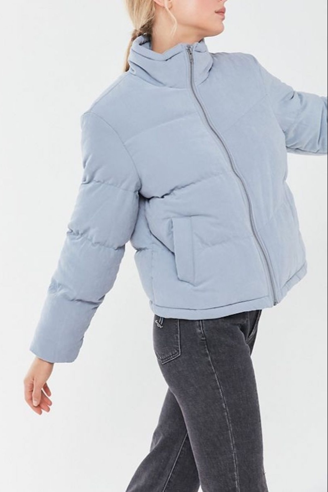 Native Youth Avery Puffer Jacket - Side Cropped Image