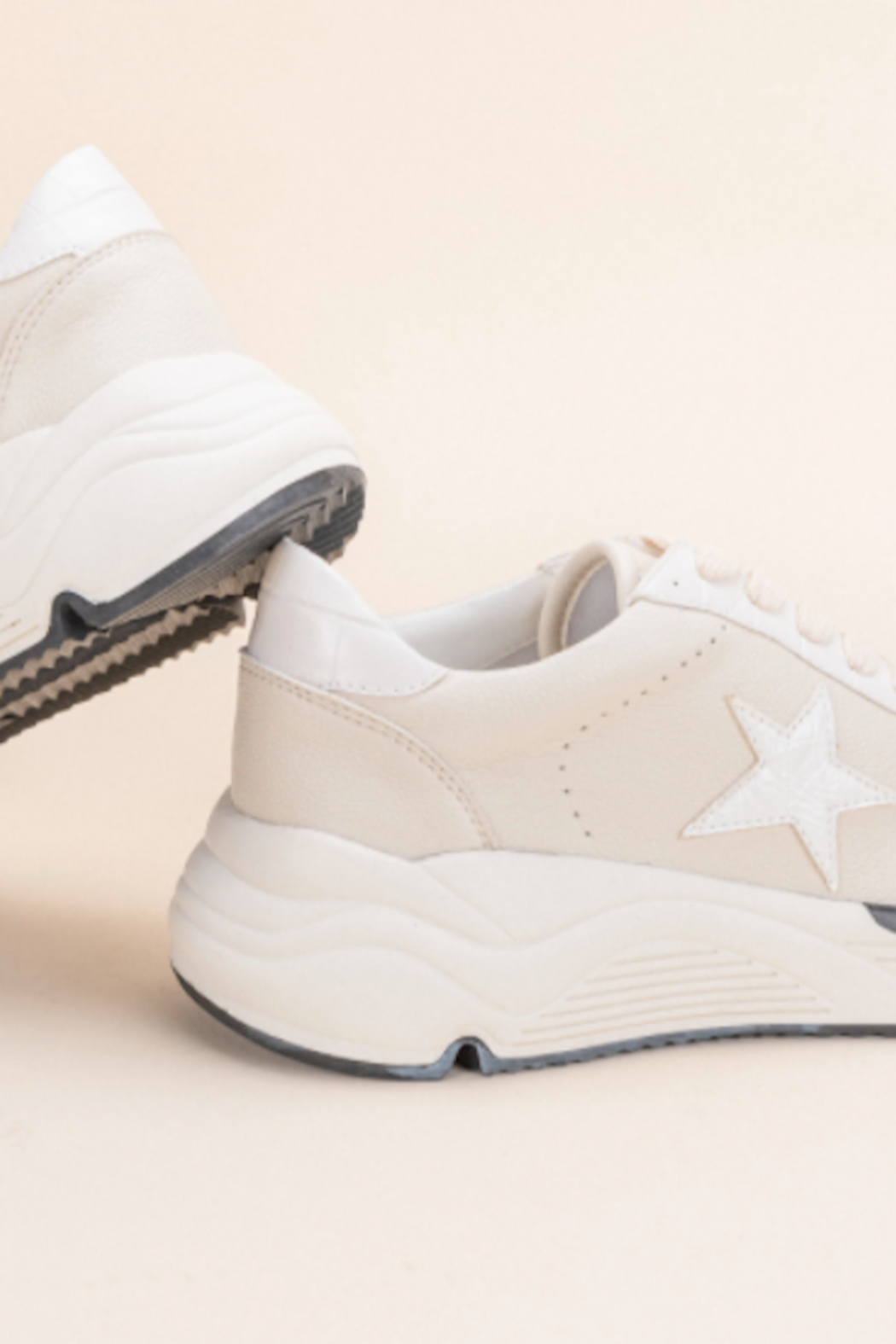 miracle miles  Avery Star Sneaker - Side Cropped Image