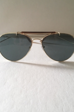 House of Atelier Aviator Sunglasses Brown - Product List Image