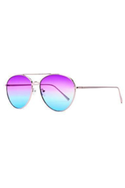 San Diego Hat Company AVIATOR SUNGLASSES MULTICOLOR TINT - Product Mini Image