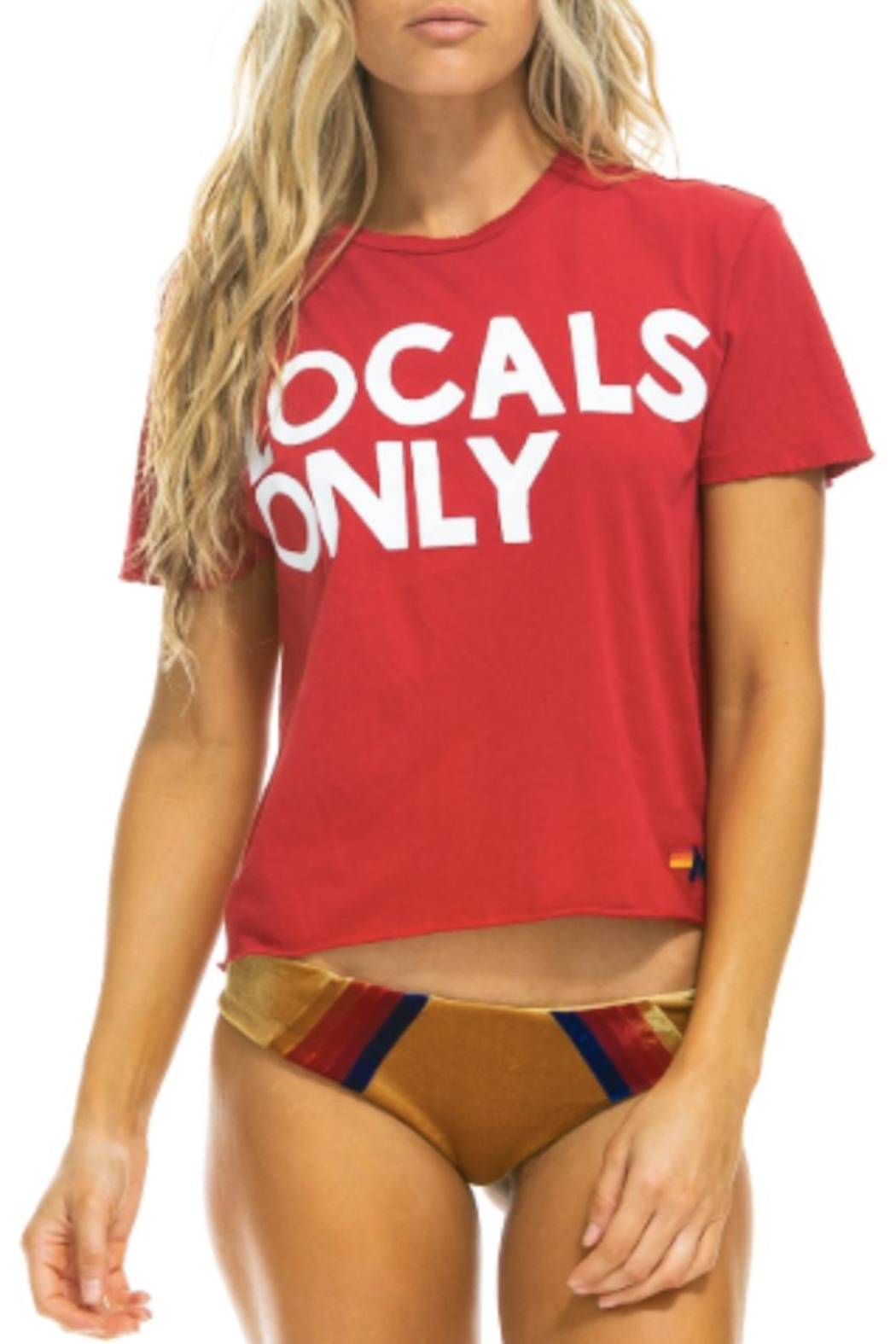 Aviator Nation Locals Only Tee - Main Image