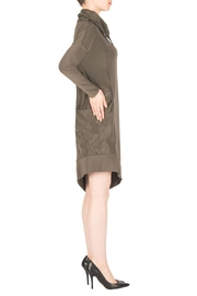 Joseph Ribkoff Avocado Dress Style - Front full body