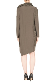 Joseph Ribkoff Avocado Dress Style - Side cropped