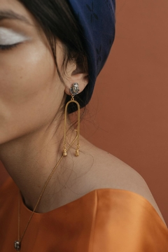 Shoptiques Product: Tigris Statement Earrings