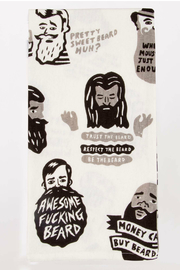 Blue Q Awesome fucking beard dish towel - Product Mini Image