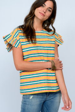 Ivy Jane Awning Stripe Top - Product List Image