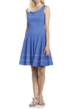 Axara Blue Silver Dress - Product List Image