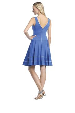 Axara Blue Silver Dress - Alternate List Image