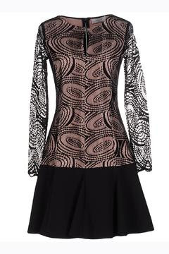 Axara Pink Black Dress - Product List Image
