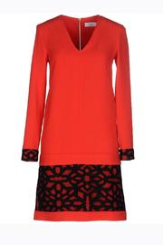 Axara Red Orange Dress - Front cropped