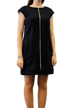 Axara Wool Dress Navy - Product List Image