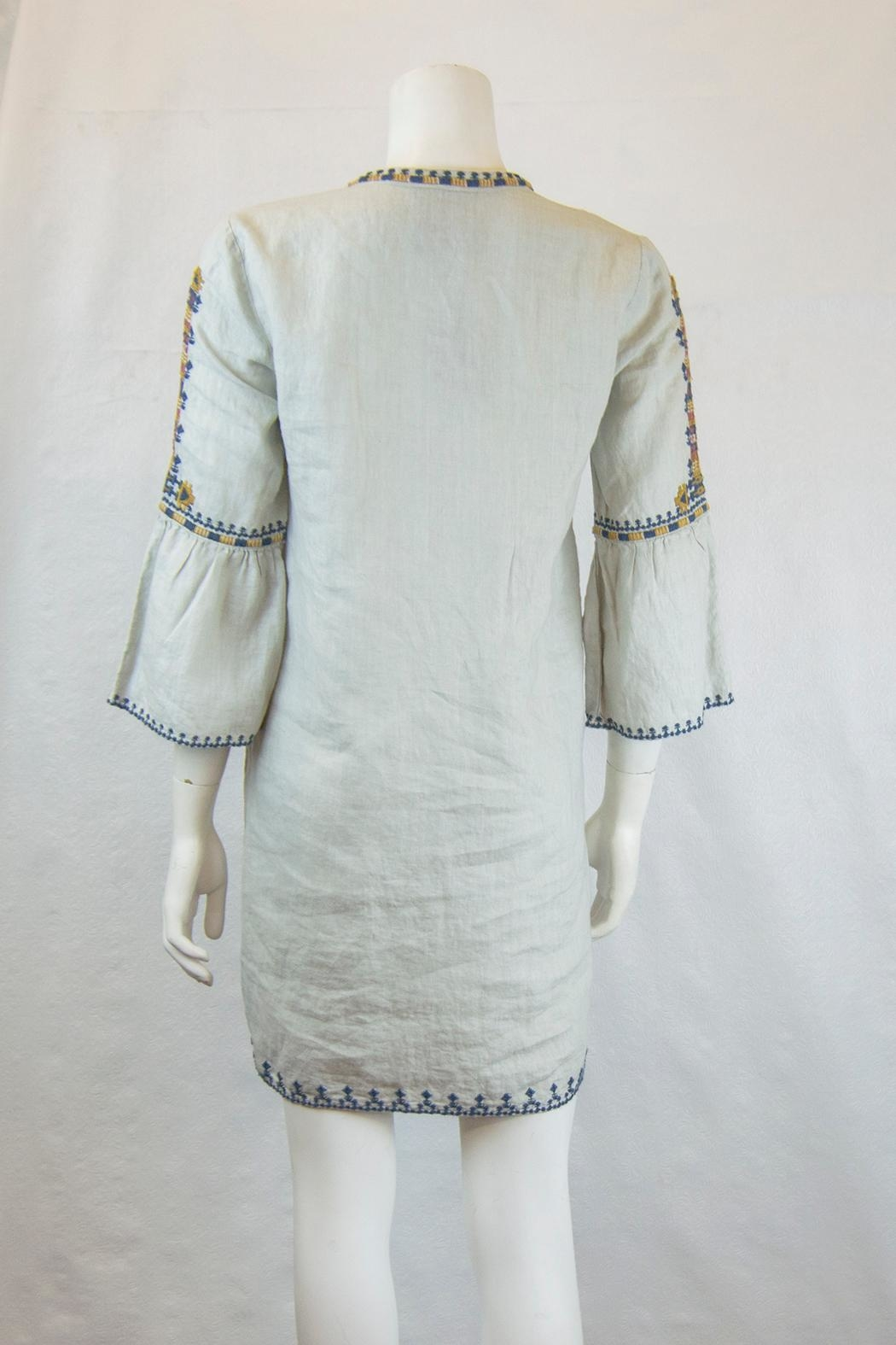 Johnny Was Axton Tunic Dress - Side Cropped Image