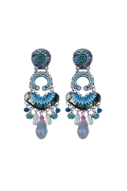 Ayala Bar Blue Illumination Earrings - Front cropped