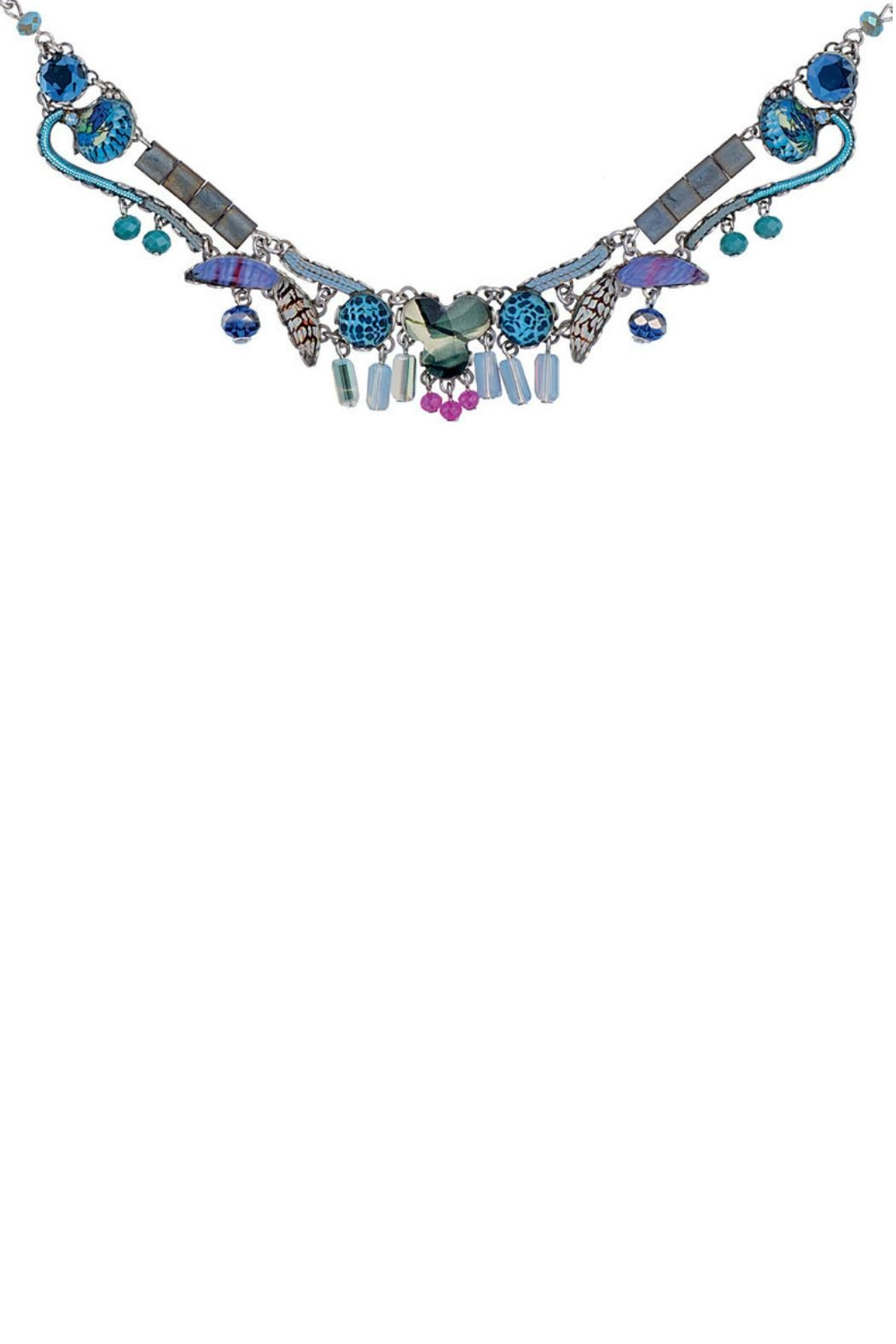 Ayala Bar Blue Illumination Necklace - Front Cropped Image