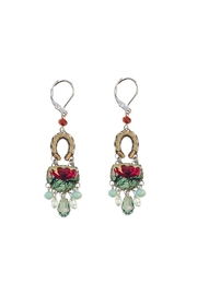 Ayala Bar Magnolia Hook Earrings - Product Mini Image