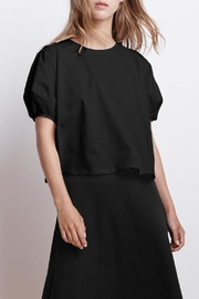 Velvet Ayla Puff-Sleeve Top - Front cropped