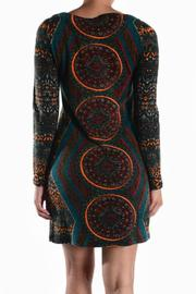 Ayreh Printed Knit Dress - Side cropped