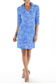 Ayreh Printed Shift Dress - Product Mini Image