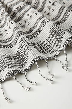Anthropologie Aysel Apron in Black and White - Alternate List Image
