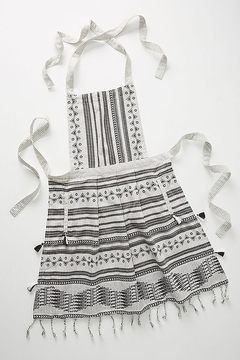 Anthropologie Aysel Apron in Black and White - Product List Image