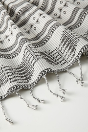 Anthropologie Aysel Apron in Black and White - Front full body