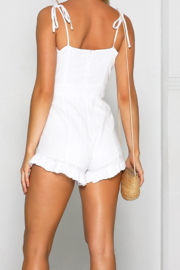 Runway The Label Azacca Playsuit - Front full body