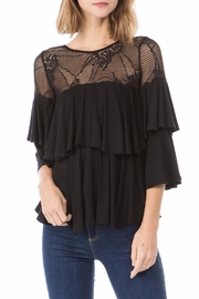 Vava by Joy Hahn Azalea Ruffle Top - Product Mini Image