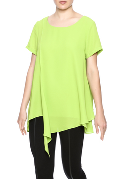 Shoptiques Product: Short Sleeved Layered Blouse