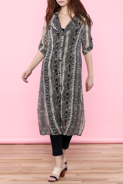 Shoptiques Product: Snake Print Duster